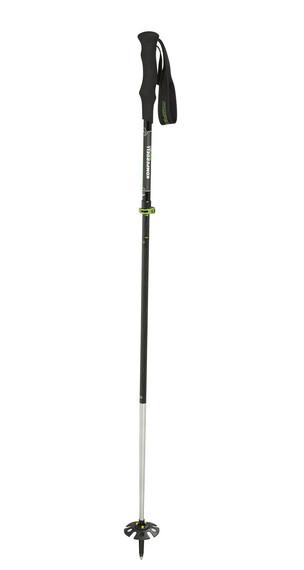 Komperdell Carbon Ultralight Vario 4 wandelstok zwart